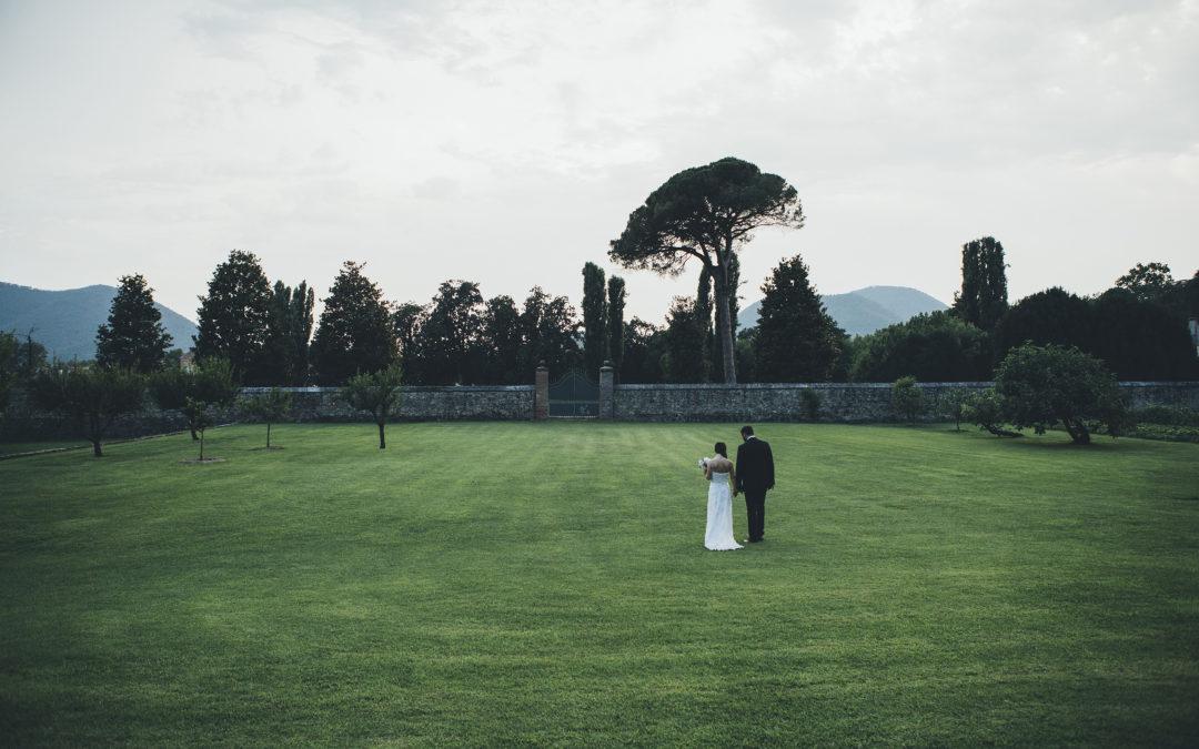 Daniela e Alberto al Castello di Lispida