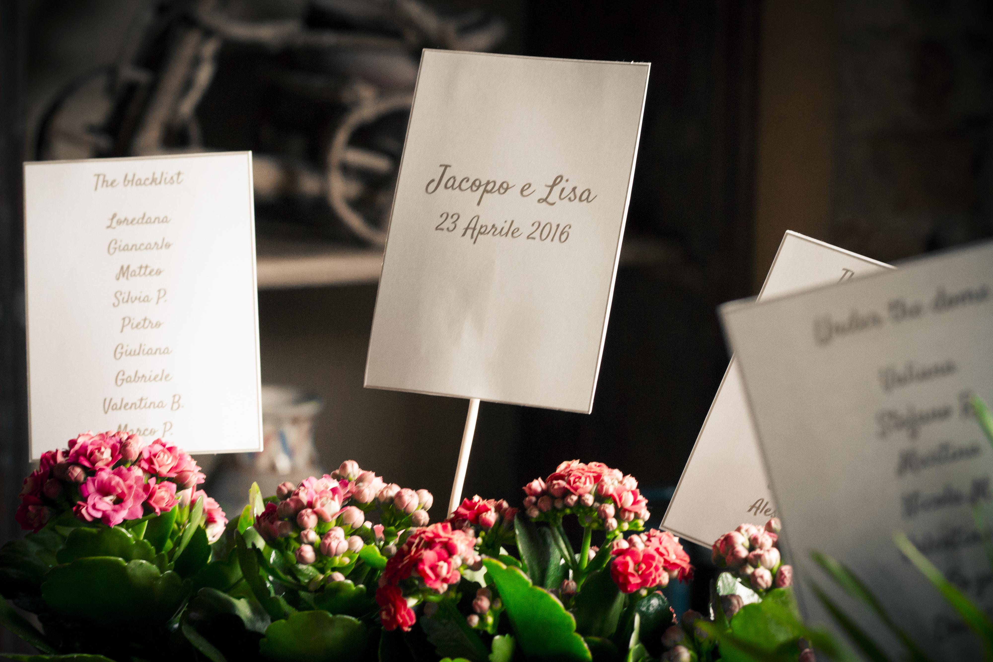 matrimonio Lisa&Jacopo