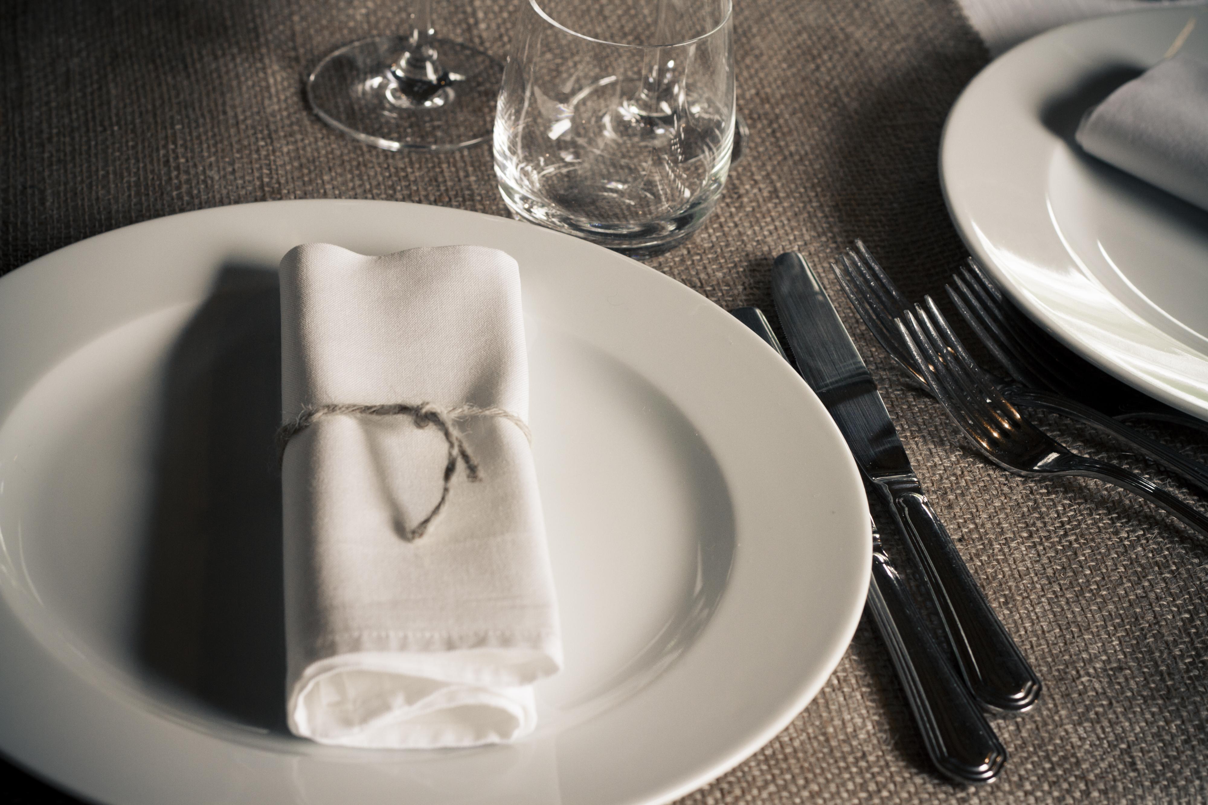 tavola matrimonio juta rustico