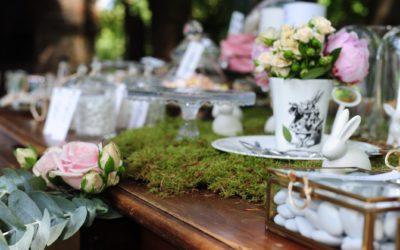 Un matrimonio a tema Alice nel Paese delle Meraviglie