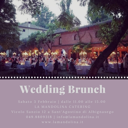 Wedding Brunch – Terza Edizione – 2018