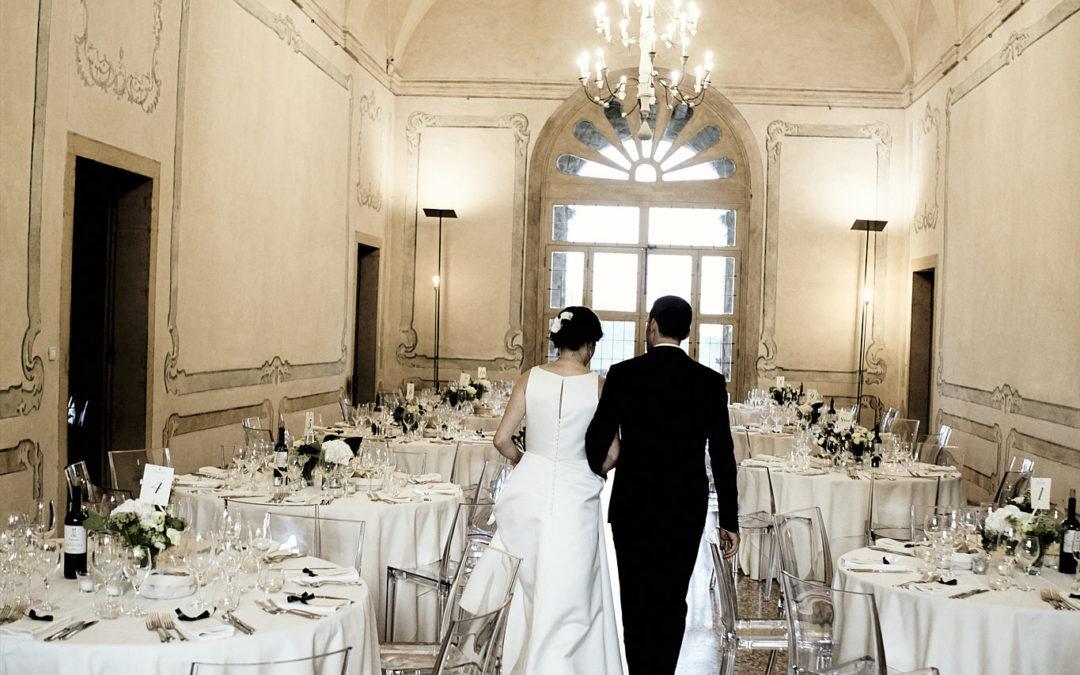 Un matrimonio classico a Villa dei Vescovi