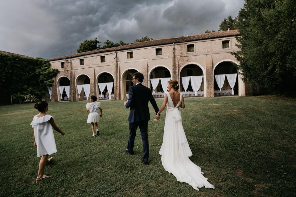 Il matrimonio di Giorgia e Pietro a Villa Scalabrin